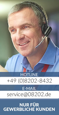 Hotline +49 (0)8202-8432 eMail: service[at]08202.de